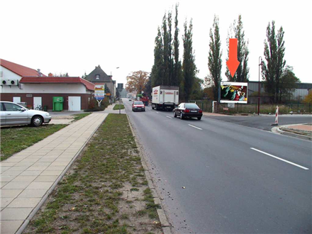 Weststr./B 101/B 169/gg.Einf. KIK/quer, 04910,