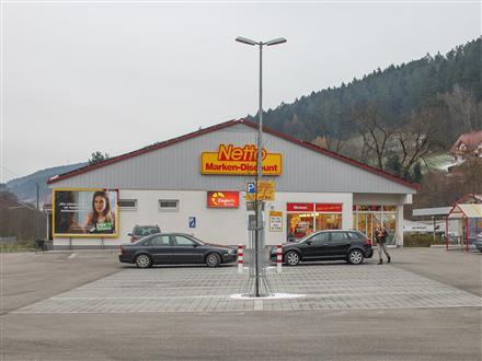 Bahnhofstr. 17 Netto Eing. (B 426), 72270, Klosterreichenbach