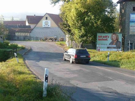 Karlstädter Straße, B 26 nh. / Am Hochberg, 97450,