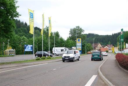 Hauptstr. 79/B 294+B 462 /Edeka/Einfahrt (lks), 72275,
