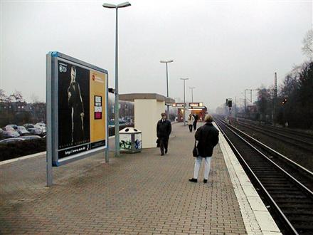 S-Bf Halstenbek,Bahnsteig, Gleis 2,2. Standort, 25469, Stadtmitte