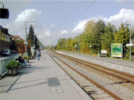 S-Bf Benningen,Bahnsteig, Gleis 2, 71726, Stadtmitte