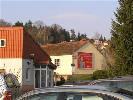 Bhf/Bahnhofstr./Giebelseite/Zuf. Rewe, 99438, Bad Berka