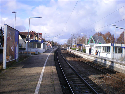 S-Bf Benningen,Bahnsteig, Gleis 1, 71726, Stadtmitte