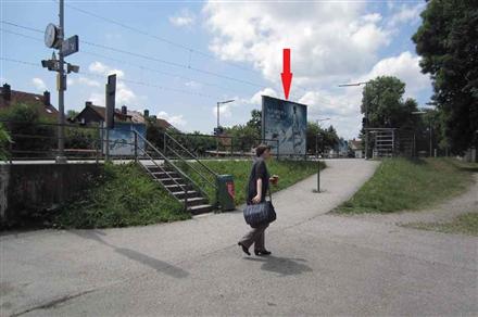 S-Bf, Bstg, Ri. München, Sicht Vorpl. u. Kiosk, 84174, Mitte