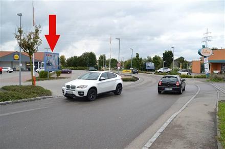 Zeppelin-Weg 1 /Lidl/geg. Einfahrt, 89542,