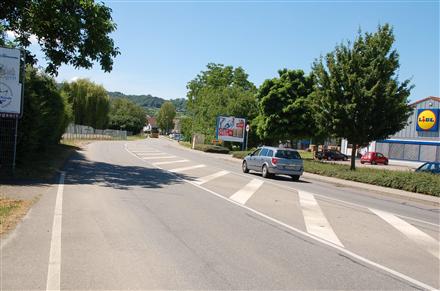 Elsässer Str. 1 /Lidl/Einfahrt/L 105/WE rts (quer zur Str), 79346,