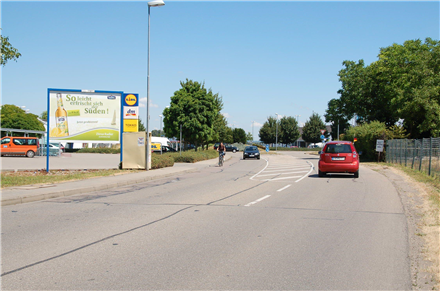 Elsässer Str. 1 /Lidl/Einfahrt/L 105/WE lks (quer zur Str), 79346,