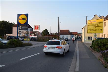 Treppendorfer Str. 8 /Lidl/Einfahrt (quer zur Str), 96138,