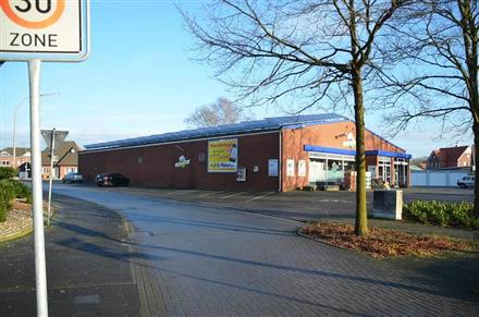 Stationsweg 2/Getränkewelt (lks vom Eingang), 48712,