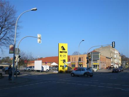 Bernauer Str/B 273 /Netto/Einfahrt (Sicht Kreuzung), 16515,