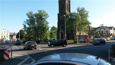 Nordallee   4 gg/Adolfstr/Hst Evang Kirche aw, 56112, Oberlahnstein