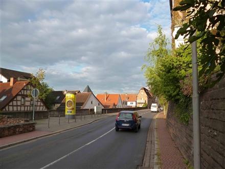 Berliner Straße gg. Stadtschänke / Löhergasse gg. Krs.Spark., 63571,