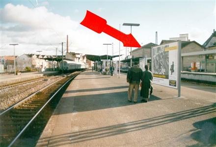 S-Bf Schorndorf, Bstg., Gleis 3, 2. Sto., 73614, Innenstadt