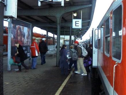 Hbf, Bahnsteig,Gleis 5, 48431, Innenstadt