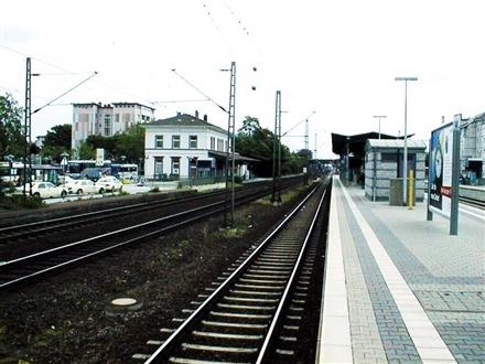 S-Bf Langen, Bstg.,Gleis 2, 63225, Stadtmitte