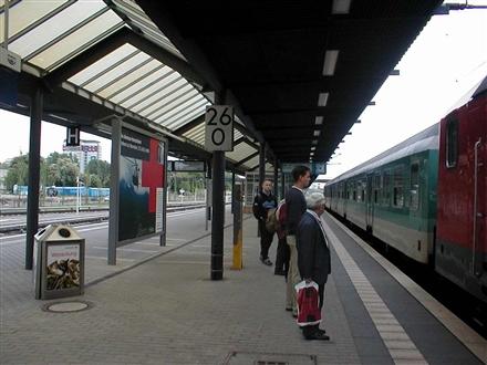 Hbf, Bstg. 1/3 Seite Gleis 1, 14473, Teltower Vorstadt