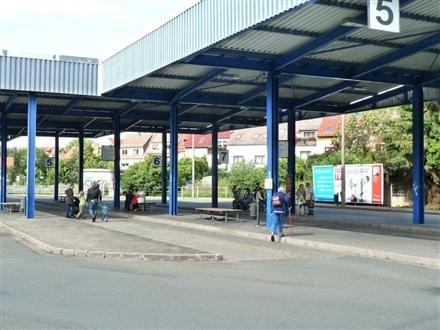 Busbahnhof ZOB Si. Mühlgrabenweg, 99867, Oststadt