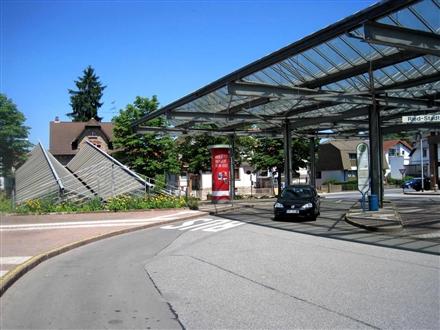 Bahnhofsplatz Nh. Gartenstr., 64625, Innenstadt