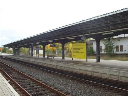 Bf Bad Langensalza, Bahnsteig Sicht Gleis 2, 99947, Bad Langensalza
