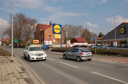 Erfurter Str. 33a /Lidl/Einfahrt (quer zur Str), 99706,
