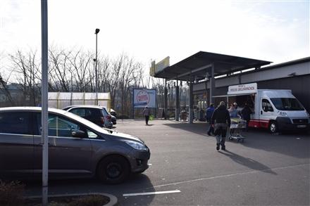 Südbahnhofstr. 25 /Edeka/geg. Eingang (Sto. rts), 63739, Innenstadt