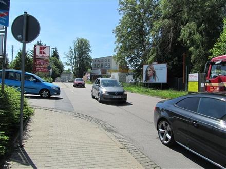 Ostring (S 243)  geg. Einf. >KAUFLAND< schr. li., 09212,