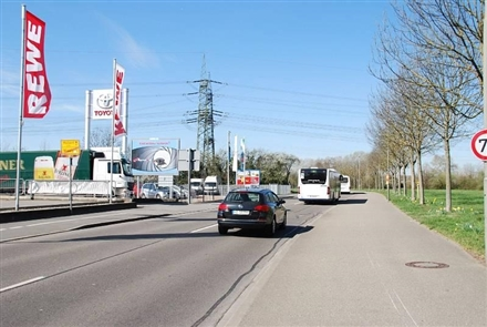 Walldorfer Str/Zufahrt Rewe Eichelweg/WE lks, 69168,