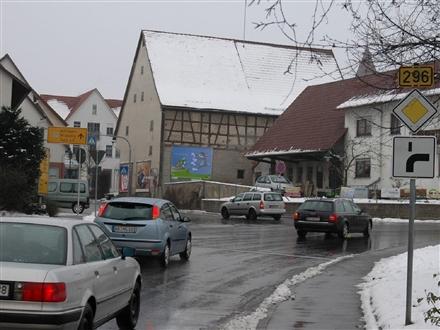 Oberjesinger Str. (B 296) /Jettinger Str. quer, 71083, Kuppingen
