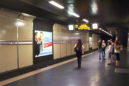 U-Bhf Hauptbahnhof Gleis 3 Sto. 3 Rtg Messe, 40210, Stadtmitte