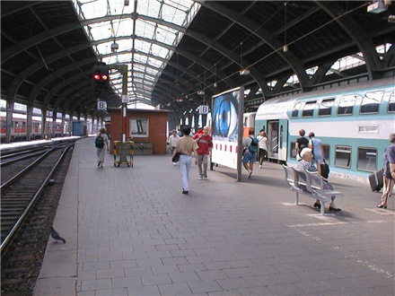 Hbf, Bstg., Gleis 4,Abschnitt A/B, Nh.Aufsicht, 58089, Stadtmitte
