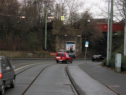 Duisburger Str./vor DB-Brücke/li., 45479, Speldorf
