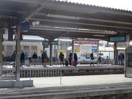 Hbf, Bstg., Gleis 3, 2.Sto., 74072, Mitte